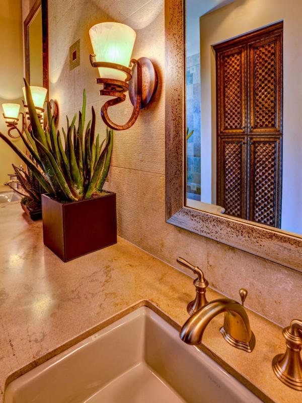 badezimmer gestaltung badezimmerfliesen aloe vera