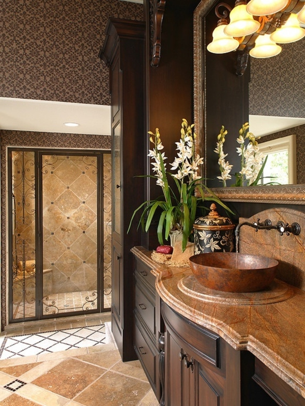 Tapeten Mediterranen Stil : Badezimmergestaltung ? der Charme des mediterranen Stils