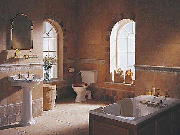 Badezimmergestaltung wie sie ihr bad im mediterranen for Unglaublich mediterrane badezimmer fliesen bunt