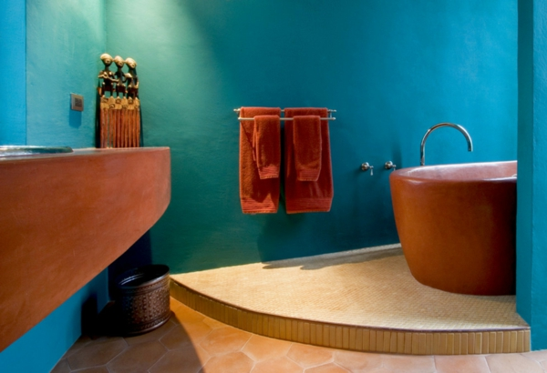 badezimmergestaltung badezimmerfliesen mosaik