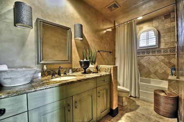 badezimmergestaltung badezimmerfliesen natursteine