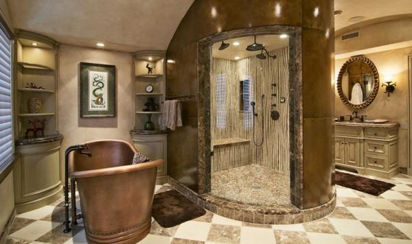 Badezimmergestaltung U2013 Der Charme Des Mediterranen Stils | Badeinrichtung  ...