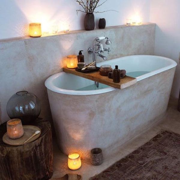 badezimmergestaltung badgestaltung ideen ovale badewanne