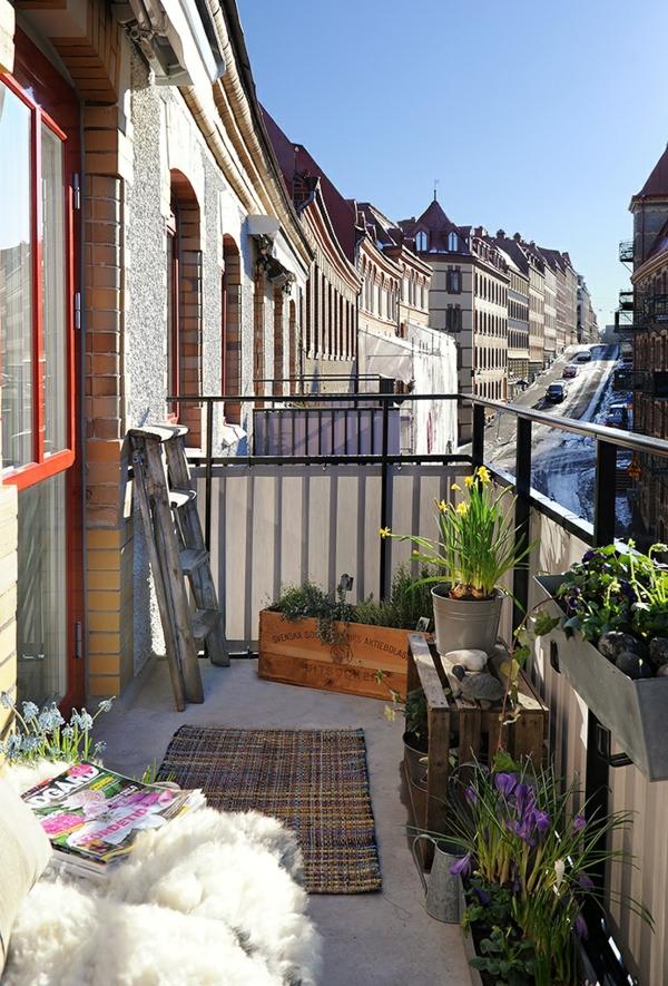 Terrasse einrichten bereiten sie ihren au enbereich auf for Balkonpflanzen winter