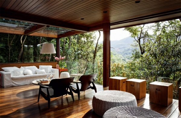 balkonm gestaltung holz terrassendielen balkonmöbel set