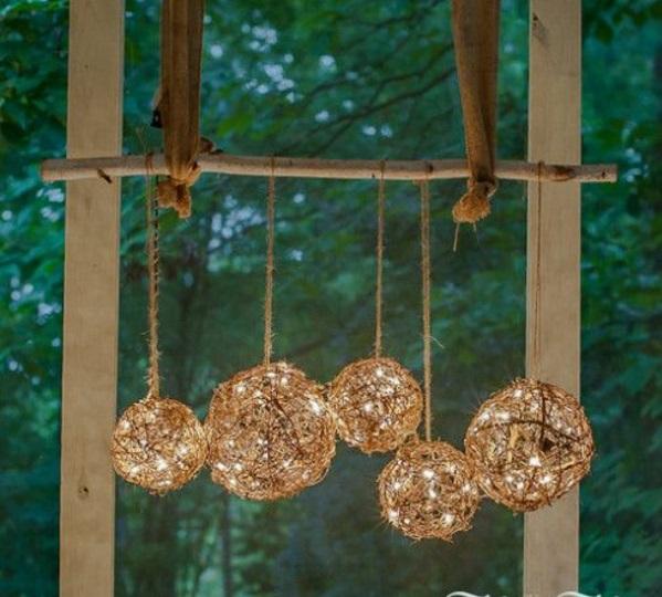 bastelideen für Fenster Weihnachtsdeko leuchten