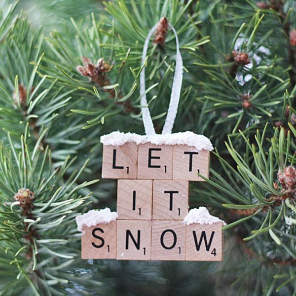 bastelideen für weihnachten weihnachtsbaum schmuck