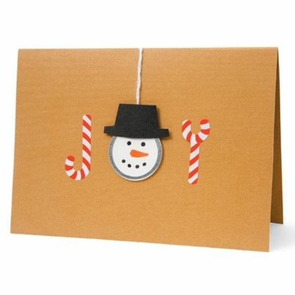 bastelideen weihnachten freude zuckerstangen