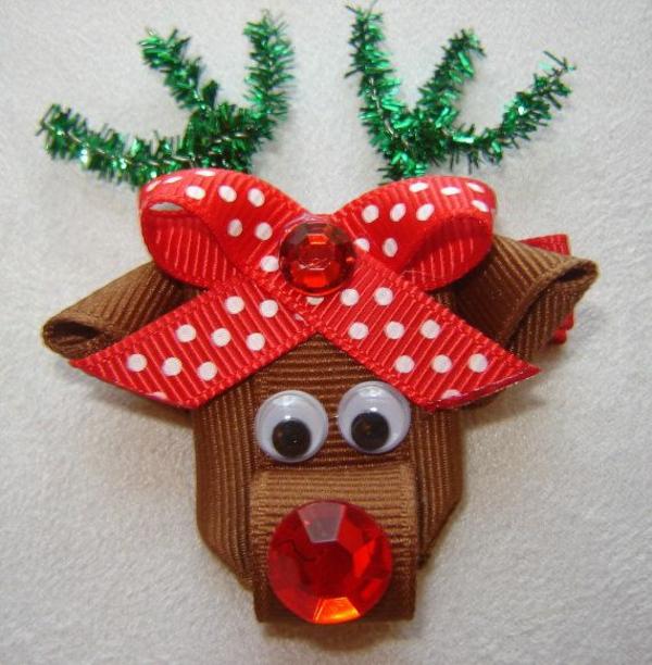 bastelideen weihnachten hirsch basteltipps wanddekoration