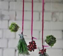 Bastelideen zu Weihnachten – dekorieren Sie dezent Ihr Zuhause