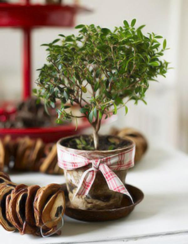 bastelideen zu weihnachten rustikal