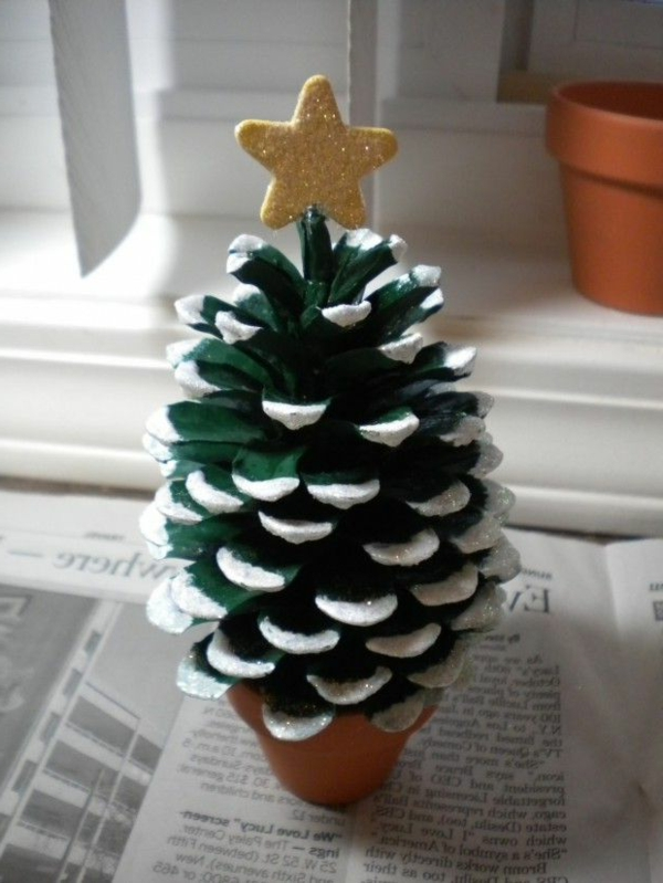 Bastelideen zu weihnachten dekorieren sie dezent ihr zuhause for Basteln kindern weihnachten tannenzapfen