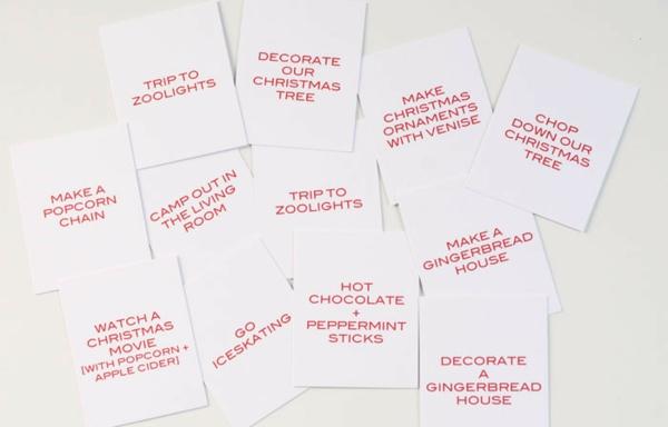basteln mit papier adventskalender selbst gestalten rustikal weihnachtswünsche schreiben