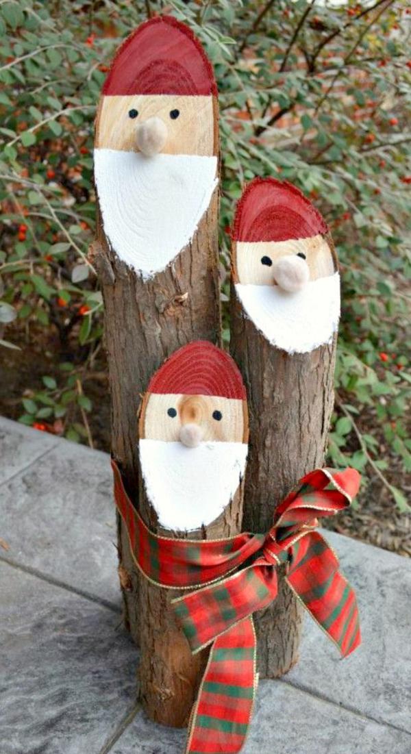 basteltipps weihnachten stümpfen weihnachtsbastelei