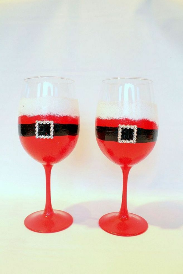 Painting Wine Glasses Ideas Designs