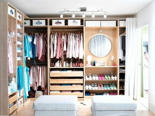 Kommode Als Kleiderschrank : Luxus begehbarer Kleiderschrank – Bedarf oder Verwöhnung?[R