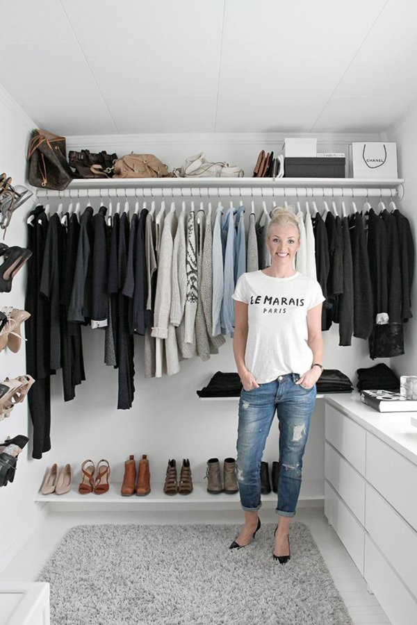 Begehbarer kleiderschrank dachschräge kleiderstange  Luxus begehbarer Kleiderschrank – Bedarf oder Verwöhnung?