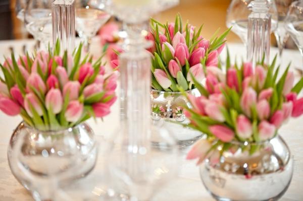 Tischdeko Mit Tulpen Festliche Ideen