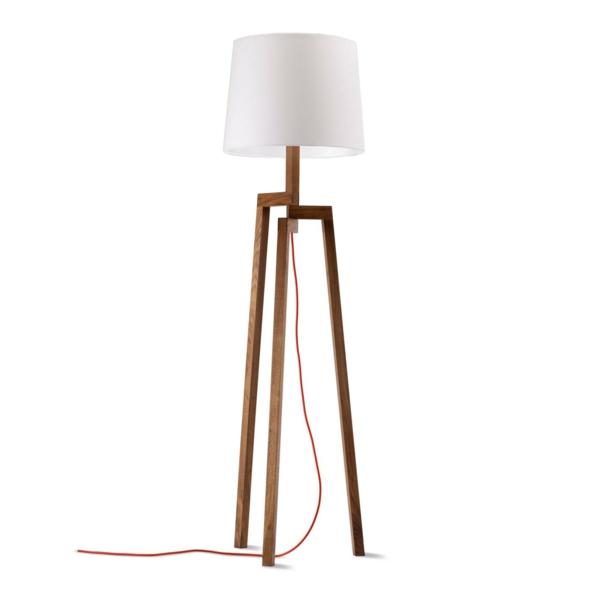 bodenlampen stehlampen design holz standleuchten
