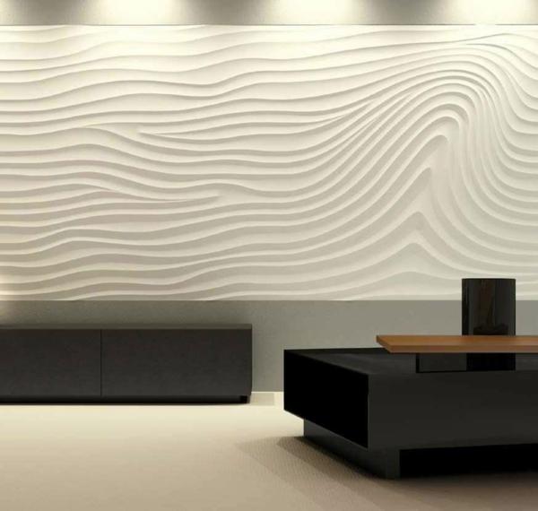 dekor streichputz auftragen wände verputzen kreative wandgestaltung