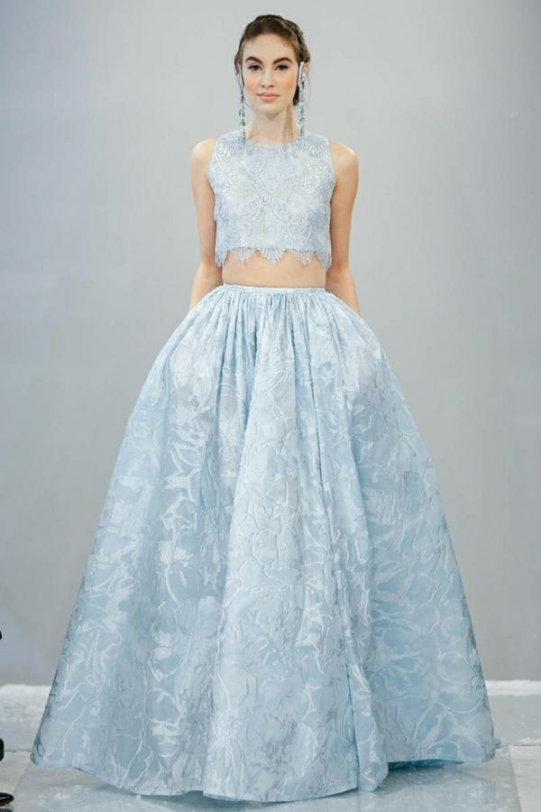 designer hochzeitskleid houghton hochzeitskleid hellblau brautkleider 2014