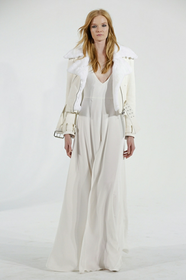 designer hochzeitskleid houghton lederjacke brautkleider 2014
