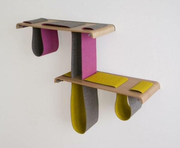 designer mbel holzmbel holzregale wandregal - Einfache Dekoration Und Mobel Kuchenutensilien Mit Schickem Design