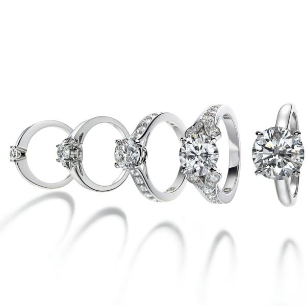 Diamantring verlobung  Schöner Verlobungsring - stellen Sie die Frage aller Fragen