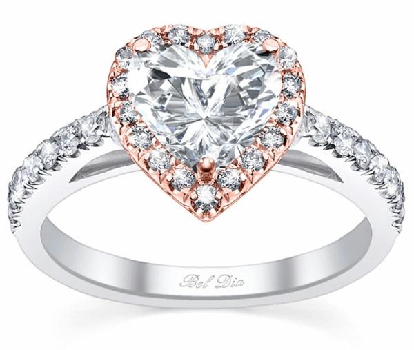 Diamantring verlobung gold  Schöner Verlobungsring - stellen Sie die Frage aller Fragen
