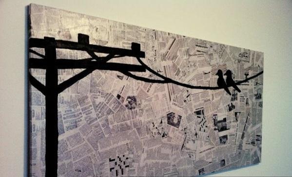 Gestalten Mit Zeitung ~ Kreatives Haus Design