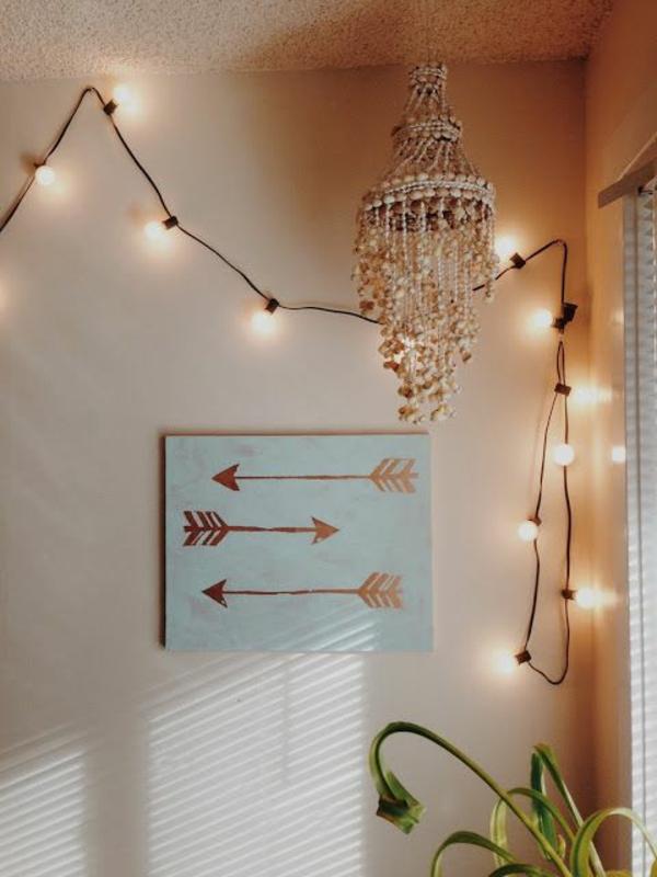 Idee lichterketten deko ideen schlafzimmer 15 deko ideen for Lichterketten ideen