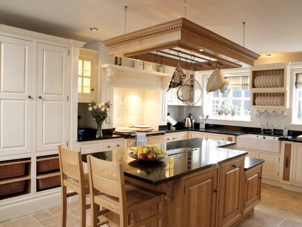 einbauküche kücheninsel früchte