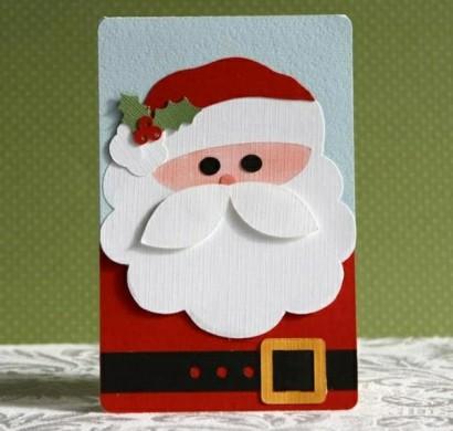 100 sch ne weihnachtskarten selber basteln. Black Bedroom Furniture Sets. Home Design Ideas