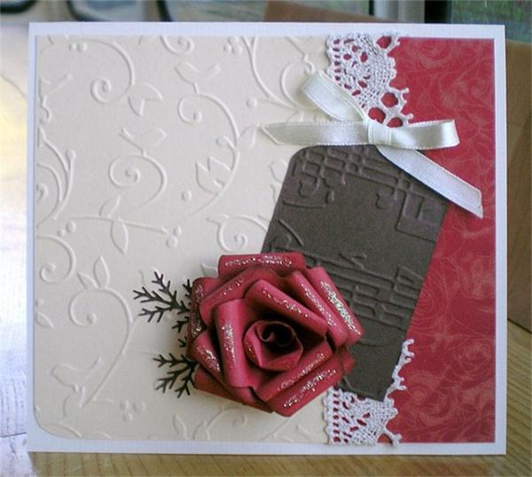 Einladungskarten Hochzeit Geburtstag Rosen Rot