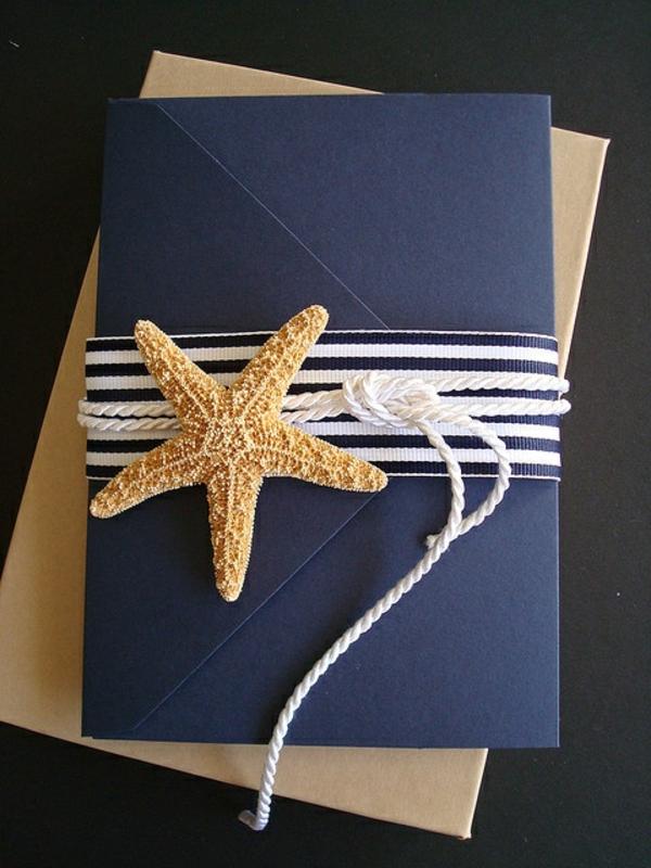 einladungskarten mit blumen hochzeit geburtstag nautisch