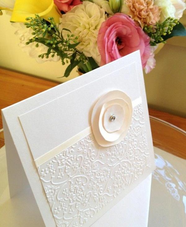 einladungskarten mit blumen hochzeit geburtstag weiß