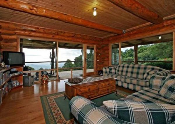 einrichtungsideen wohnzimmer rustikal wohnzimmertische couchtisch kolonial - Rustikale Einrichtungsideen