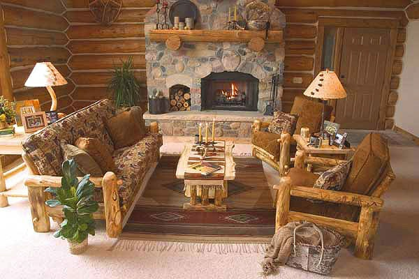 einrichtungsideen wohnzimmer rustikal wohnzimmertische