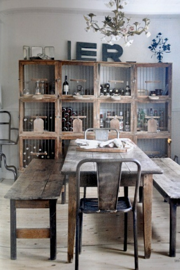 esszimmer einrichten holzmbel holz regal bauen holzkisten diy mbel - Einfache Dekoration Und Mobel Kuchenutensilien Mit Schickem Design