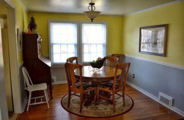 Wandfarbe eierschalenfarben zarte farbnuancen f r ihre - Wandfarbe gelb kombinieren ...