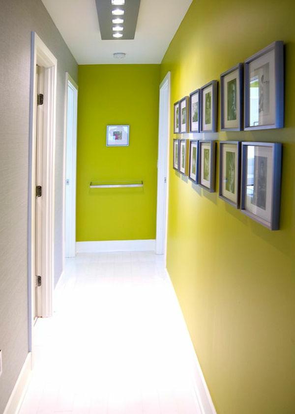 farbgestaltung flur gelb neongrün