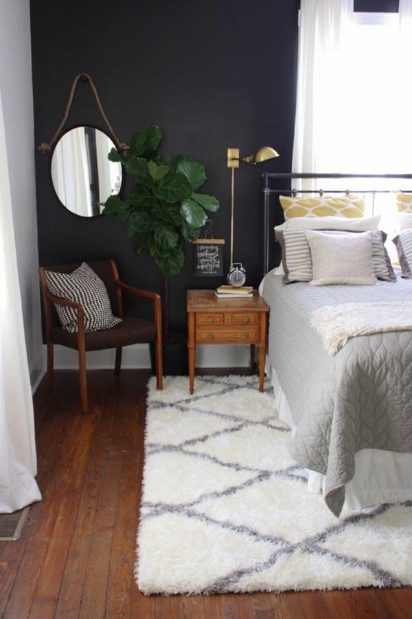 Farbgestaltung schlafzimmer passende farbideen f r ihren - Wandgestaltung fa r schlafzimmer ...