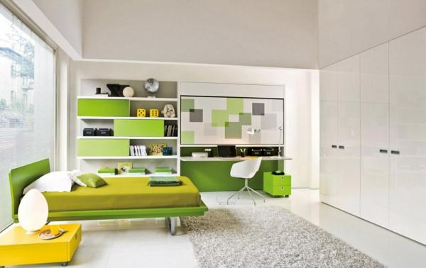 Farbideen Wohnzimmer - Trendfarbe Greenery beschert Frische und ...