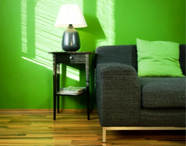 farbideen wohnzimmer graues sofa