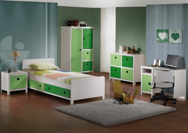 farbideen wohnzimmer - trendfarbe greenery beschert frische und ... - Farbideen Wohnzimmer Grau