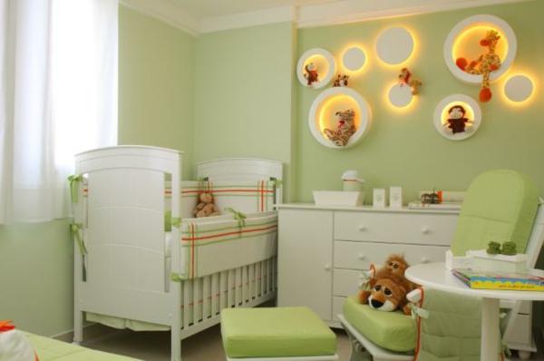 Farbideen Wohnzimmer - Trendfarbe Greenery beschert Frische und Entspannung!