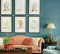 wohnzimmer ideen einrichtungsideen mit attraktivem mobiliar und frischen farben - Ideen Wohnzimmer