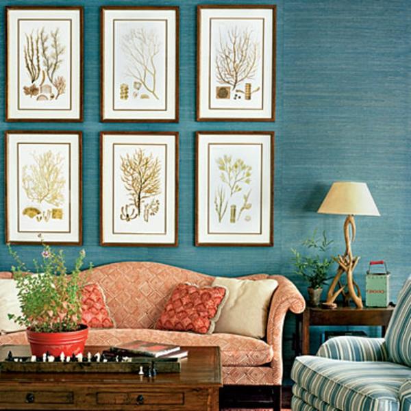farbideen wohnzimmer meeresblau