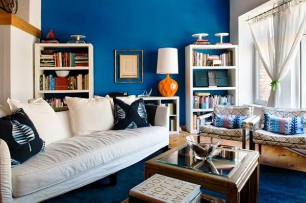 farbideen wohnzimmer meeres blau