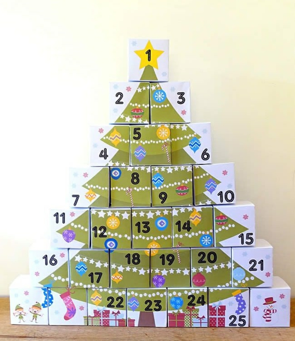 1001 Adventskalender Selbst Gestalten Bastelideen Fur Weihnachten